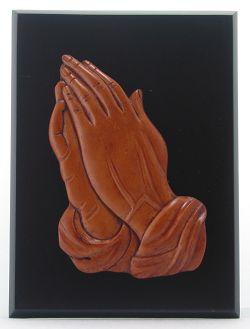 印尼木雕-sr-345/祷告手