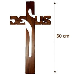 黑檀木二呎十字架
