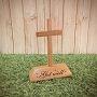 木雕-GET WELL十字架-GC-209