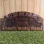 印尼木雕-NH-276CE/(中英)耶和華祝福滿滿