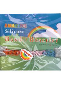 ALM-09奇妙彩虹矽膠手環
