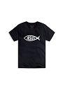JESUS魚黑XS