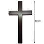 木頭十字架C60
